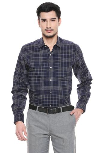 VAN HEUSEN -  Navy Formal Shirts - Main