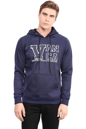 THE VANCA Mens Turtel Neck Full Sleeve Sweatshirt