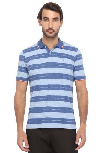 ALLEN SOLLY -  Light BlueT-shirts - Main