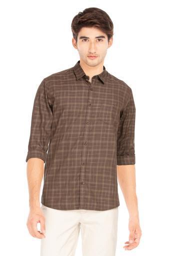 LOUIS PHILIPPE SPORTS -  Dark BrownShirts - Main