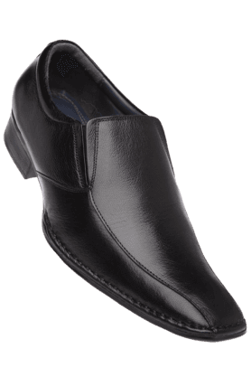IWALK Mens Black Leather Slipon Formal Shoe
