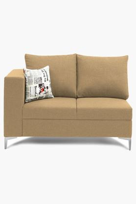 Light Ivory Water Repellent Fabric Sofa (2 - Seater)