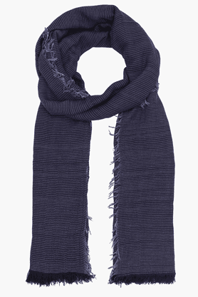 Mens Blended Knitted Scarf