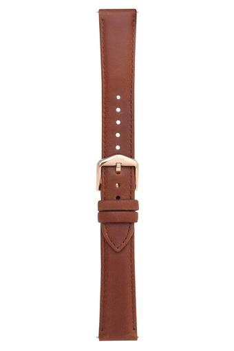 Unisex Dial Leather Watch Strap - S181362