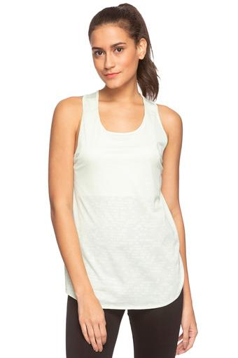 Womens Round Neck Printed Tank Top