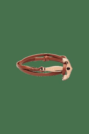 6f6b57eeb3d81 Rose Gold Anchor Brown Strap