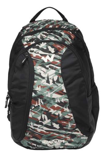 Unisex Zipper Closure 3 Compartment Backpack