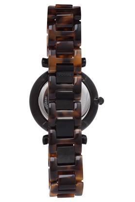 Womens Black Dial Multi-Function Metallic Watch - WFIF-ES4659I