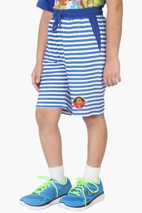 Character Printed Boy's Shorts