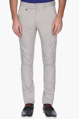 VETTORIO FRATINI Mens Solid Casual Chinos - 201659545