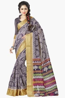 DEMARCAWomens Silk Designer Saree - 202338115