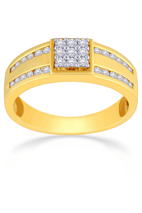 MALABAR GOLD AND DIAMONDS Mens Mine Diamond Ring - Size 22 - 201594542