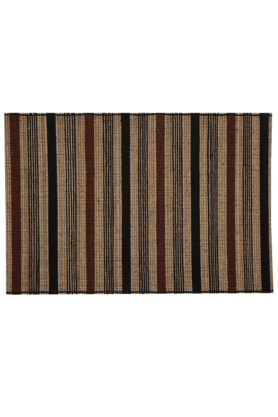 BACK TO EARTH Tablemat Mix Natural Fiber (Set Of 2)