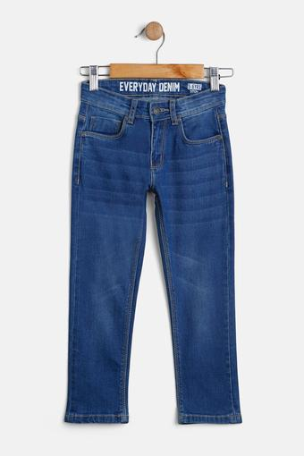 STOP -  Mid Stone Jeans - Main