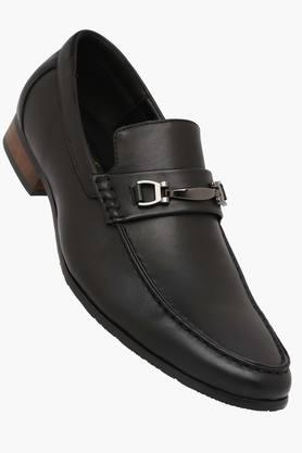 TRESMODE Mens Leather Slip On Formal Loafers  ... - 202252424