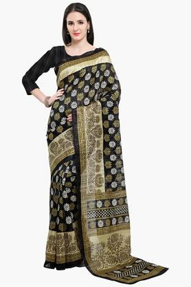 Women Bhagalpuri Art Silk Printed Saree - 202447024