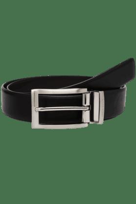 HIDESIGNMens Ranch Leather Formal Belt