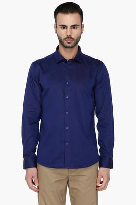Rs By Rocky Star Formal Shirts (Men's) - Mens Full Sleeves Solid Casual Shirt