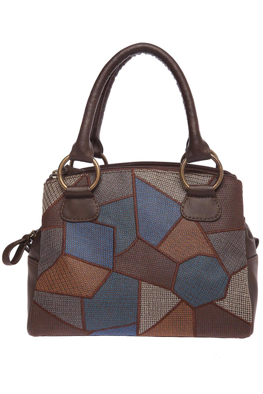 Baggit Womens Bisleri Tingtong Brown Handbag