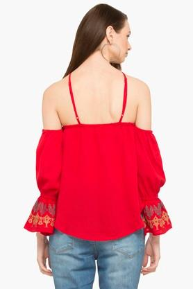 RS BY ROCKY STAR - Red PL Women Western Flat 50% Off - 1