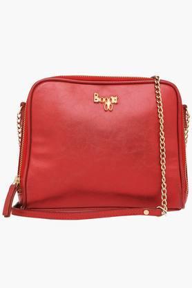 BAGGITWomens Zipper Closure Shoulder Bag - 201615680