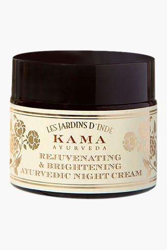 Rejuvenating & Brightening Ayurvedic Night Cream - 50 GM