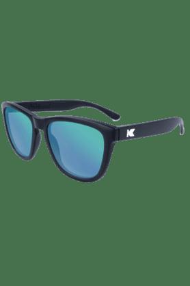 Premium Unisex Sunglassess Black/Green Moonshine-PMGM2001
