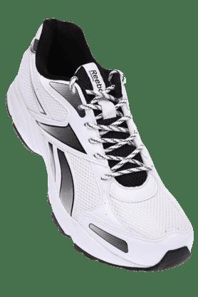 REEBOKMens White Black Running Shoe