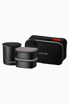 ASVEL Vacuum Lunch Box Set Of 4 With Bag