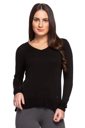 fe897a008 X ALLEN SOLLY Womens V Neck Solid Sweater. ALLEN SOLLY. Womens V Neck Solid  Sweater .