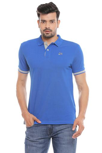 BEING HUMAN -  Mid BlueT-Shirts & Polos - Main