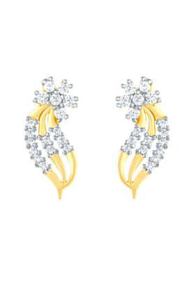 MAHIMahi Gold Plated Earrings With CZ For Women ER1103803G (Use Code FB15 To Get 15% Off On Purchase Of Rs.1200)