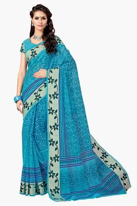 ASHIKA Womens Designer Cotton Printed Saree - 202338202