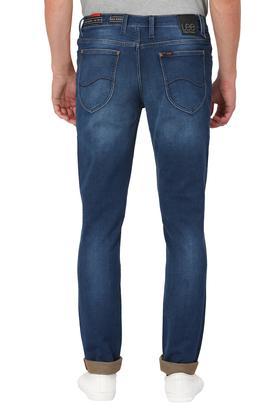 Mens Skinny Fit Mild Wash Jeans (Bruce Fit)