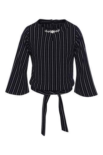 TINY GIRL -  NavyTopwear - Main