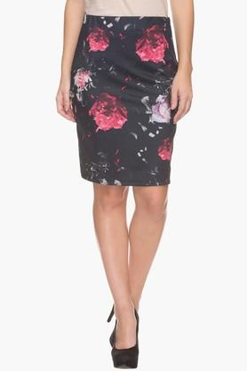 LIFEWomens Floral Print Skirt