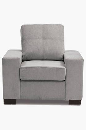 Crystal Grey Fabric Sofa (Seater)