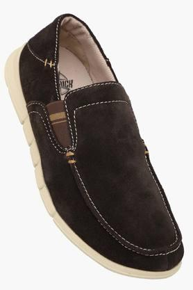 Mens Suede Slip On Loafers