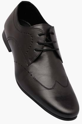 FRANCO LEONE Mens Leather Lace Up Derbys - 202658087