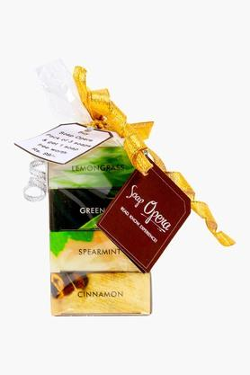 SOAP OPERASoaps Combo Pack - Lemongrass, Green Tea, Spearmint, Cinnamon