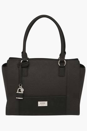 GUESSWomens Bradbury Zipper Closure Tote Handbag - 201421706