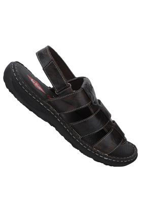 LEE COOPER - Brown Sandals & Floaters - 1