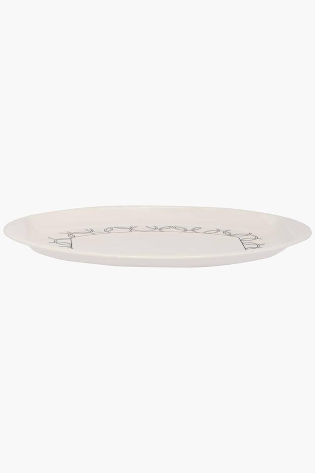 Oval Printed Serving Platter