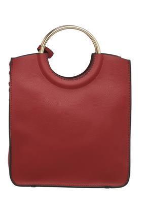 Womens Short Strap Tote Handbag