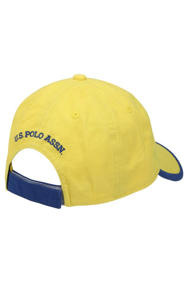 Unisex Velcro Closure Solid Cap