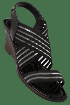 CATWALKWomens Casual Slipon Heel Sandal