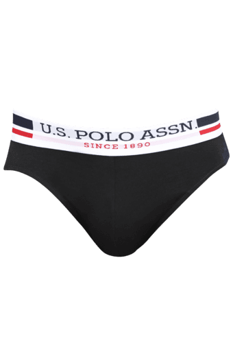 Mens Stretch Solid Briefs