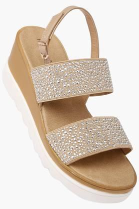Womens Casual Wear Buckle Closure Wedges - 202358759
