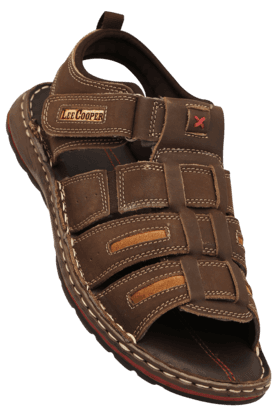 LEE COOPER Mens Velcro Closure Sandal - 200360651