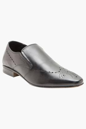 Mens Leather Slip On Formal Loafers - 202004372